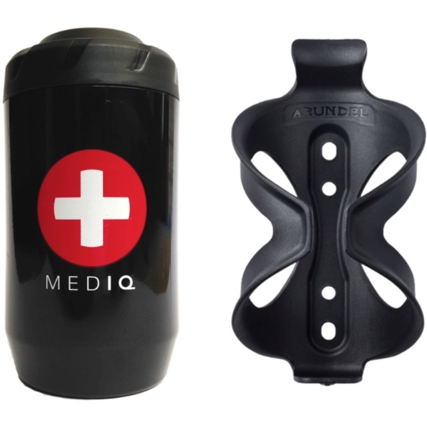 MED IQ First Aid Kit for cyclists and Arundel Sport Cage